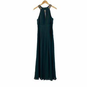 SALE NWT Eliza J forest green formal dress